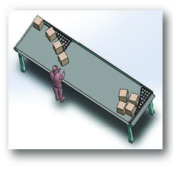 Conveyor Centering Guide