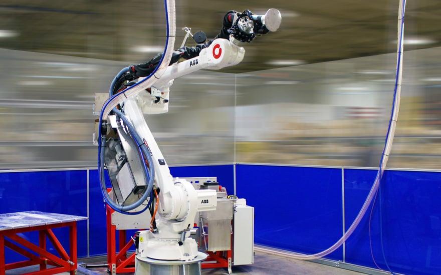 Globe Composite robot arm