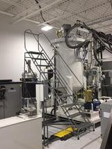 urethane meter mixing machine