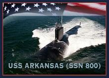 USS Arkansas SSN 800