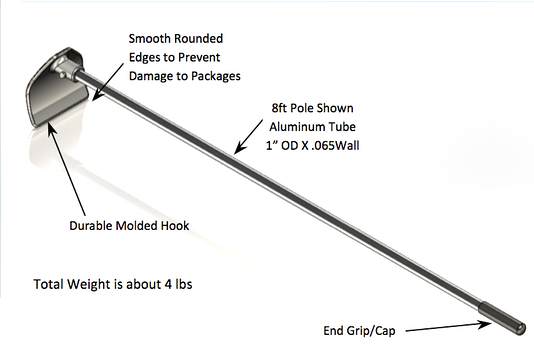 large jam break pole specifications